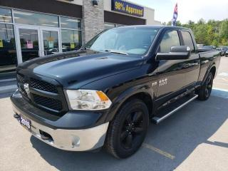 Used 2015 RAM 1500 SLT OUTDOORSMAN QUAD CAB 5.7L HEMI 4WD for sale in Trenton, ON
