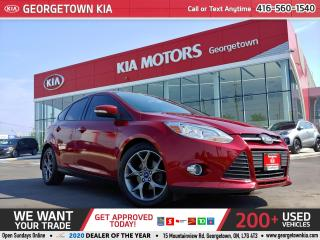 Used 2013 Ford Focus SE | ONLY 112K KMS | A/C | BLUETOOTH | ALLOYS for sale in Georgetown, ON