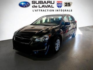 Used 2016 Subaru Impreza 2.0i Awd Hatchback for sale in Laval, QC