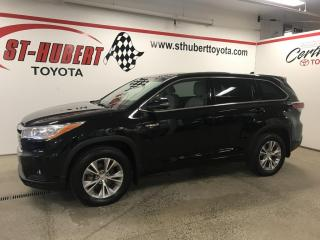 Used 2015 Toyota Highlander HYBRID 4WD 4dr LE for sale in St-Hubert, QC