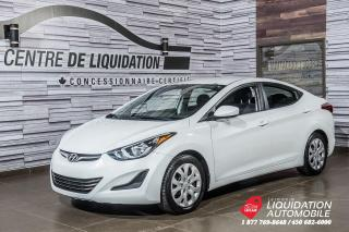 Used 2015 Hyundai Elantra GL+GR ELECTRIQUE+A/C+BLUETOOTH for sale in Laval, QC