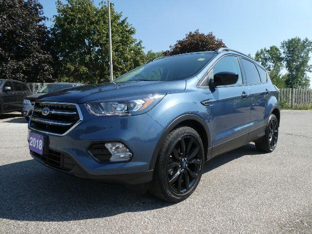 used 2018 ford escape se navigation heated seats sport pkg for sale in essex, ontario carpages.ca