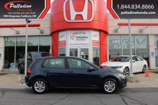 Used 2016 Volkswagen Golf TSI S 6A-CERTIFIED-NO ACCIDENTS-LOW KM for sale in Sudbury, ON