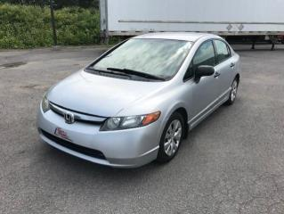 Used 2007 Honda Civic 4 portes, boîte automatique, DX-G for sale in Québec, QC