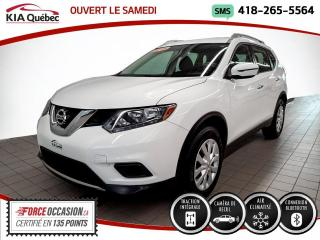 Used 2016 Nissan Rogue S* AWD* CAMERA* A/C* BLUETOOTH* for sale in Québec, QC