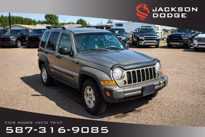 used 2006 jeep liberty sport - affordable suv for sale in medicine hat, alberta carpages.ca