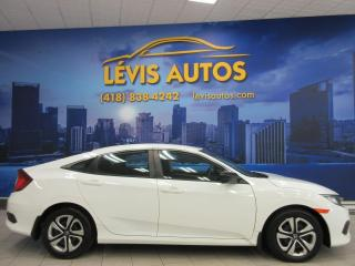Used 2017 Honda Civic DX 6 VITESSE MANUEL BLUETOOTH 64200 KM ! for sale in Lévis, QC