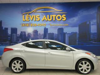 Used 2013 Hyundai Elantra LIMITED ÉDITION AUTOMATIQUE CUIR TOIT OU for sale in Lévis, QC