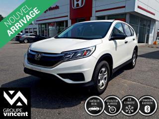 Used 2015 Honda CR-V LX ** GARANTIE 10 ANS ** Silhouette sport, personnalité athlétique, technologies novatrices, un choix évident! for sale in Shawinigan, QC