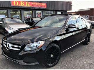 Used 2015 Mercedes-Benz C-Class C 300 4MATIC-TOIT PANO-NAVIGATION-CAM DE RECUL- for sale in Laval, QC