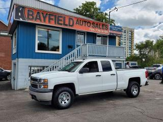 Used 2014 Chevrolet Silverado 1500 WT Double Cab 4x4 **5.3L** for sale in Barrie, ON