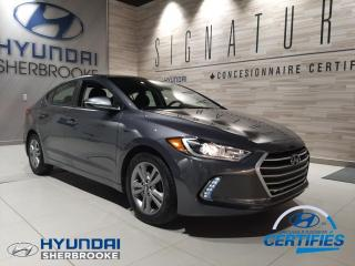 Used 2018 Hyundai Elantra GL+CAMERA+BANCS/VOLANT CHAUFF+ANGLES-MOR for sale in Sherbrooke, QC