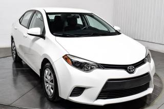 Used 2016 Toyota Corolla LE A/C CAMÉRA DE RECUL CRUISE CONTROL for sale in Île-Perrot, QC