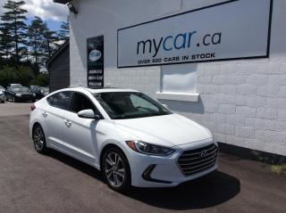 Used 2017 Hyundai Elantra GLS SUNROOF, HEATED SEATS, ALLOYS, BACKUP CAM!! for sale in Kingston, ON