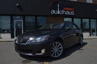 Used 2009 Lexus IS 250 AWD/NAVI/CAM/LEATHER/SUNROOF for sale in Concord, ON
