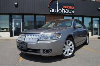 Used 2008 Lincoln MKZ AWD/LEATHER/SUNROOF/JUST TRADED for sale in Concord, ON