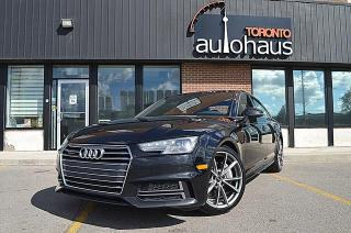 Used 2017 Audi A4 S-LINE/PREMIUM PLUS/NAVI/CAM LEATHER/SUNROOF for sale in Concord, ON