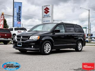 Used 2019 Dodge Grand Caravan SXT Premium Plus ~Nav ~Backup Cam ~Power Doors for sale in Barrie, ON