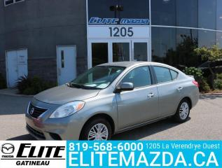 Used 2014 Nissan Versa SV for sale in Gatineau, QC