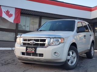 Used 2012 Ford Escape XLT 4WD | Bluetooth | Power Seat for sale in Waterloo, ON