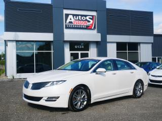 Used 2013 Lincoln MKZ 2.0H Hybrid + GPS + CAMÉRA + CUIR + BLUETOOTH for sale in Sherbrooke, QC