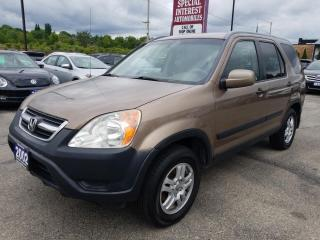 Used 2002 Honda CR-V EX for sale in Cambridge, ON