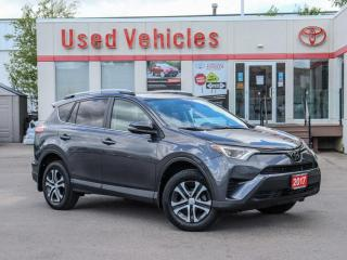 Used 2017 Toyota RAV4 LE AWD BLUETOOTH CRUISE-CONTROL CAMERA for sale in North York, ON