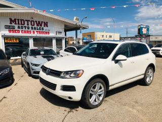 Used 2012 Volkswagen Touareg EXECLINE for sale in Regina, SK