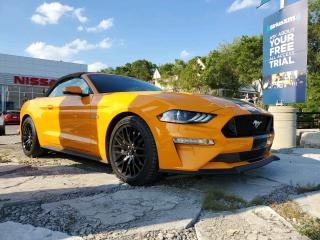 Used 2018 Ford Mustang GT Premium PRISTINE CONDITION CONVERTIBLE. CLEAN CARFAX! for sale in Toronto, ON