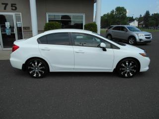 Used 2012 Honda Civic 4 portes, boîte manuelle, LX for sale in Lévis, QC