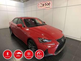 Used 2017 Lexus IS 300 F-SPORT - AWD - TOIT OUVRANT for sale in Québec, QC