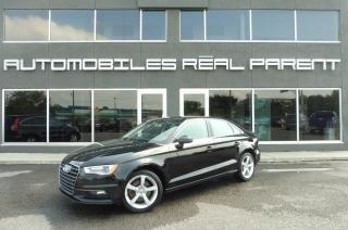 Used 2016 Audi A3 2.0 TFSI QUATTRO - TOIT - for sale in Québec, QC