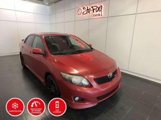 Used 2010 Toyota Corolla XRS - TOIT OUVRANT for sale in Québec, QC