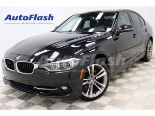 Used 2018 BMW 3 Series 330i xDrive Sportline *GPS/Camera *État-Neuf! for sale in St-Hubert, QC