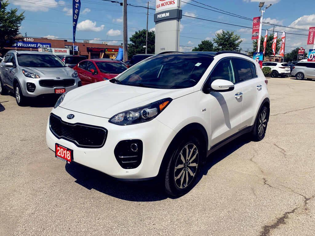 used 2018 kia sportage ex tech awd navi leather harman kardon low km for sale in north york, ontario carpages.ca