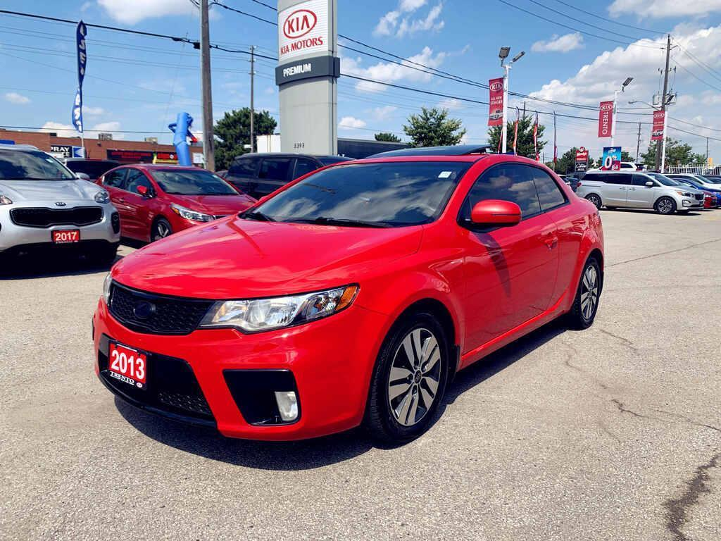 used 2013 kia forte koup 2.0l ex forte koup auto ex hted seats alloys roof 1 owner for sale in north york, ontario carpages.ca