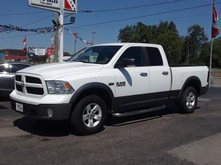 Used 2013 RAM 1500 OUTDOORSMAN for sale in Welland, ON
