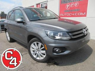 Used 2014 Volkswagen Tiguan TRENDLINE AUTO MAGS A/C GR.ÉLECTRIQUE for sale in St-Jérôme, QC