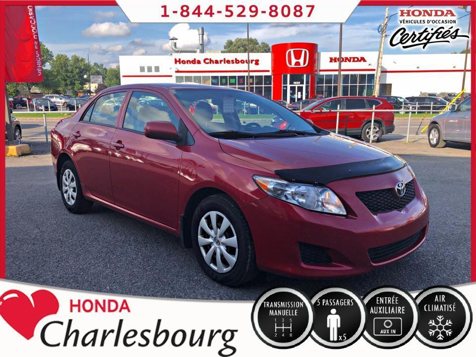 used 2009 toyota corolla ce climatiseur for sale in charlesbourg, quebec carpages.ca