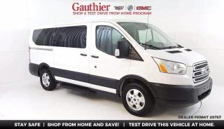 Used 2019 Ford Transit Passenger Wagon XLT 8 Passenger Van, 3.7L V6, Dual Air/Heat, Loade for sale in Winnipeg, MB