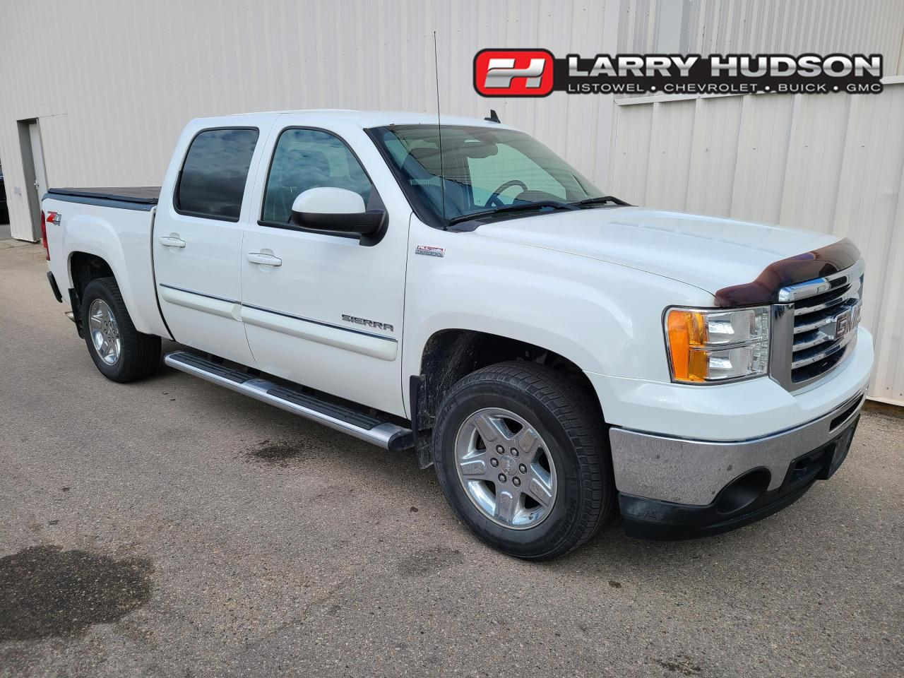 used 2011 gmc sierra 1500 slt crew cab all terrain remote start soft tonneau cover for sale in listowel, ontario carpages.ca