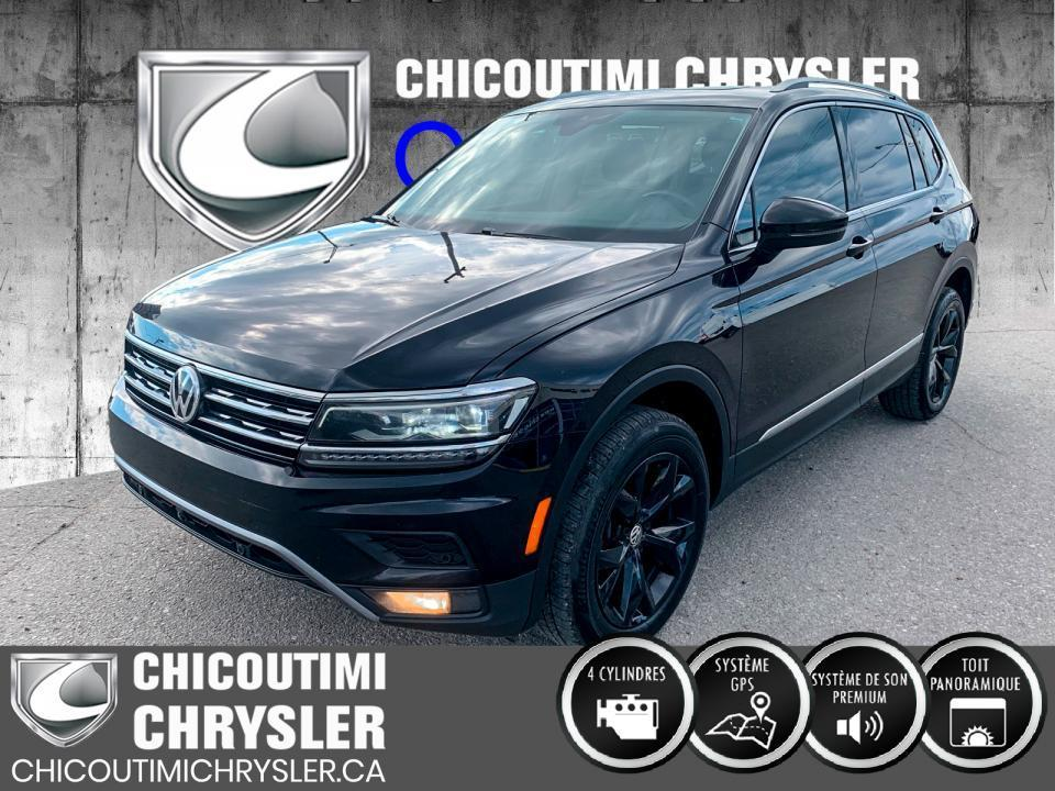 used 2018 volkswagen tiguan highline 4motion for sale in chicoutimi, quebec carpages.ca