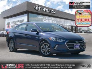 Used 2018 Hyundai Elantra GL SE  - Aluminum Wheels - $116 B/W for sale in Nepean, ON