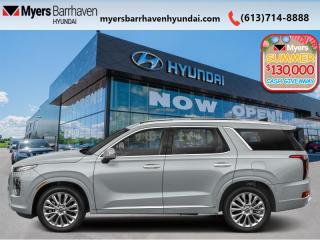 New 2020 Hyundai PALISADE Ultimate AWD 7 Pass  - Nappa Leather - $348 B/W for sale in Nepean, ON