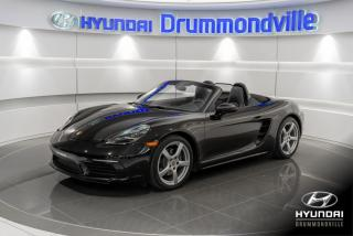 Used 2018 Porsche Boxster 718 GARANTIE + PDK + PREMIUM  PACK + WOW! for sale in Drummondville, QC