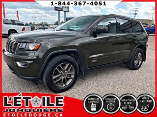 Used 2017 Jeep Grand Cherokee Laredo édition 75e anniversaire 4x4 for sale in Jonquière, QC