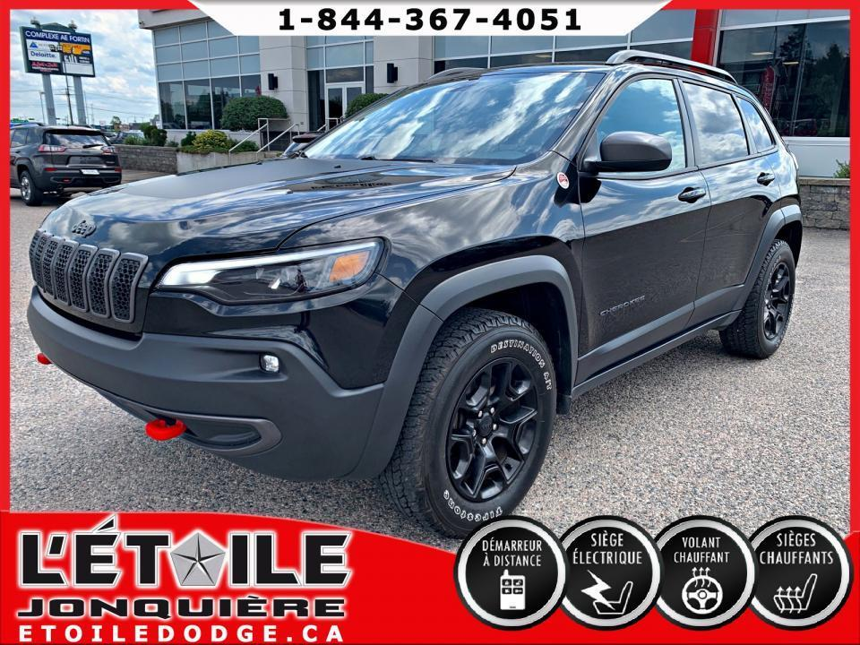 used 2019 jeep cherokee trailhawk 4x4 v6 for sale in jonquière, quebec carpages.ca