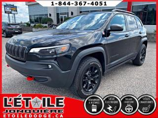 Used 2019 Jeep Cherokee TRAILHAWK 4X4 V6 for sale in Jonquière, QC