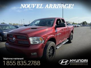 Used 2012 RAM 1500 SPORT + CREW CAB + CUIR + MAGS 20 for sale in Drummondville, QC