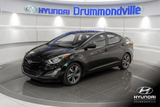 Used 2015 Hyundai Elantra GLS + 41 264 KM + GARANTIE + TOIT + CAME for sale in Drummondville, QC